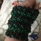 Kandi Glove Finished