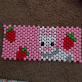 Strawberry Bunny Panel