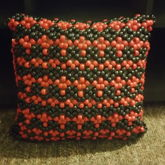 Beaded Pillow For My Friend JD