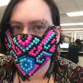 Colorful Kandi Mask