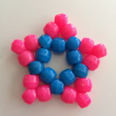 Pink And Blue Star