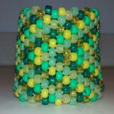 Green/yellow Cuff