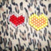 Peyote Stitch Hearts!