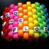 Blood On The Dance Floor Rainbow Cuff