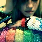 AmberMonstrawrFace Kandi&&Beads