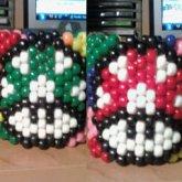 Super Mario Mushroom Cuffs
