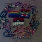 Some Of My Singles,and 3 Of My Arm Cuffs :3