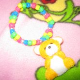 Yellow Bear Charm(: