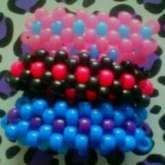 Kandi Flower Bracelets