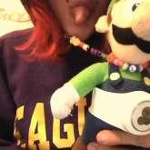 My Luigi Necklace :D