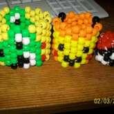 Pikachu And 3d Pokeball And Yoshi.
