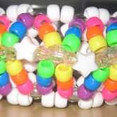 3-D Rainbow Star Cuff :D