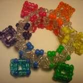 Rainbow Cube 3D Cuff