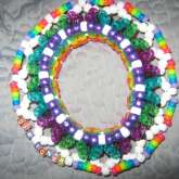 (Bottom) 3D UFO Kandi Kid Cuff.(: