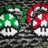 Mario Mushroom Twin Bracelets
