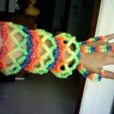 My First Ever Huge Bracelet.